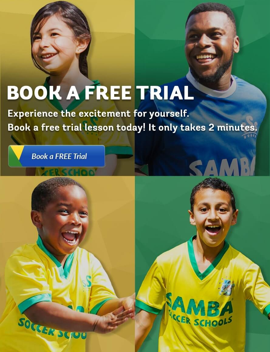 book free trial kids football training
