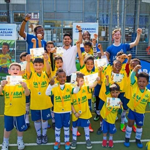 football summer camps london uk