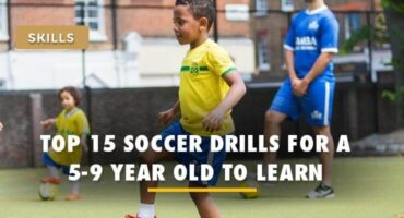 soccer drills for 5 to 9 year olds