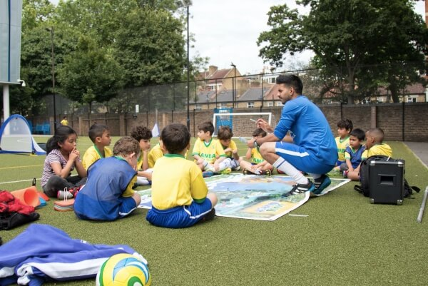 kids football coaching qualification