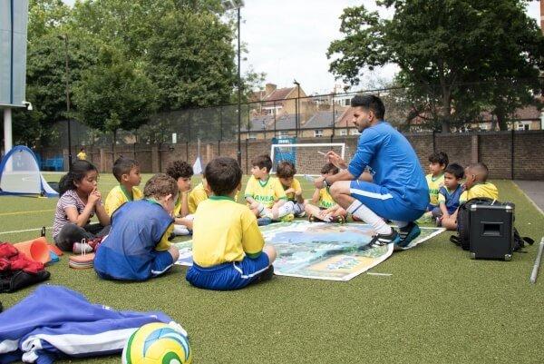 kids football coaching qualification