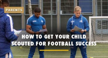 how to get your child scouted for football