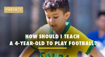 how to teach my 4 year old soccer