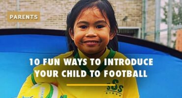 introduce your child to football
