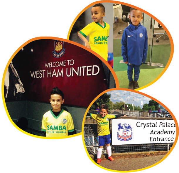 kids being selected by football clubs