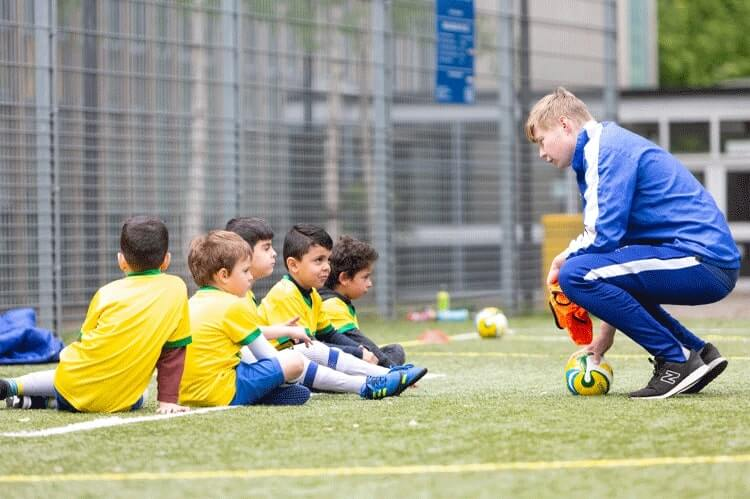 follow instructions in football camp
