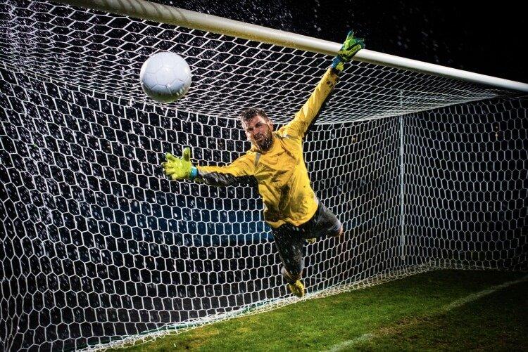 football goalkeeper position