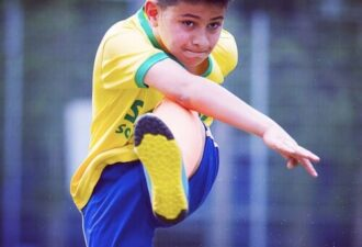 football striker position