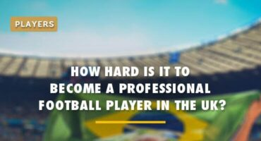 is it hard to become a professional football player