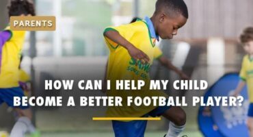 how can i help my child become a better football player