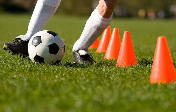 how to improve my son's football skills