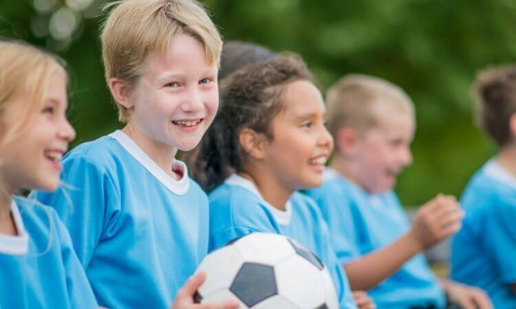 soccer training for kids london