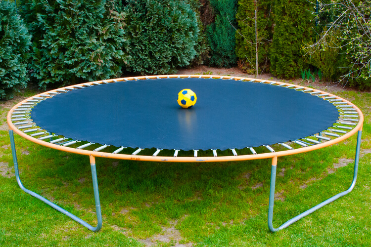 catching trampoline