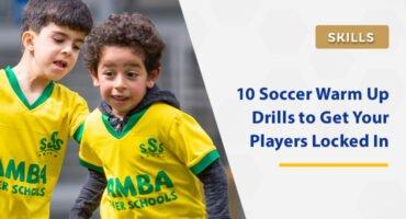 soccer warm up drills