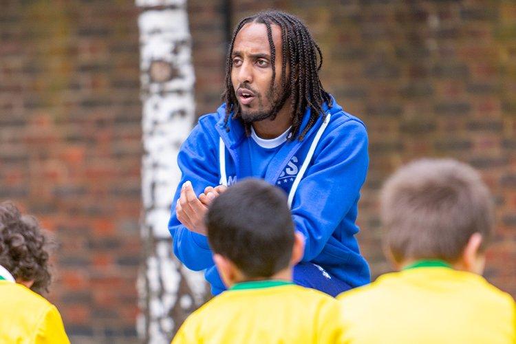 children's football coach