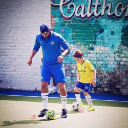 1 to 1 football coach in london